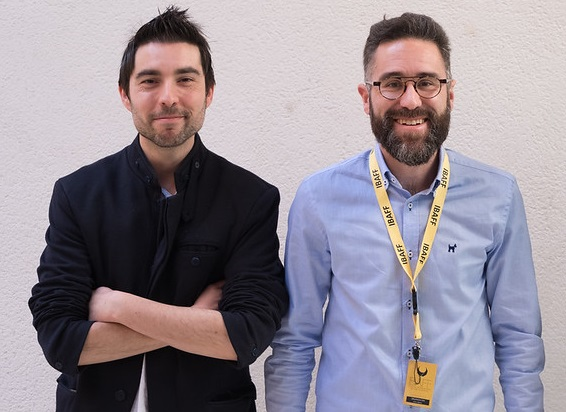 Javier H. Estrada y Enric Albero