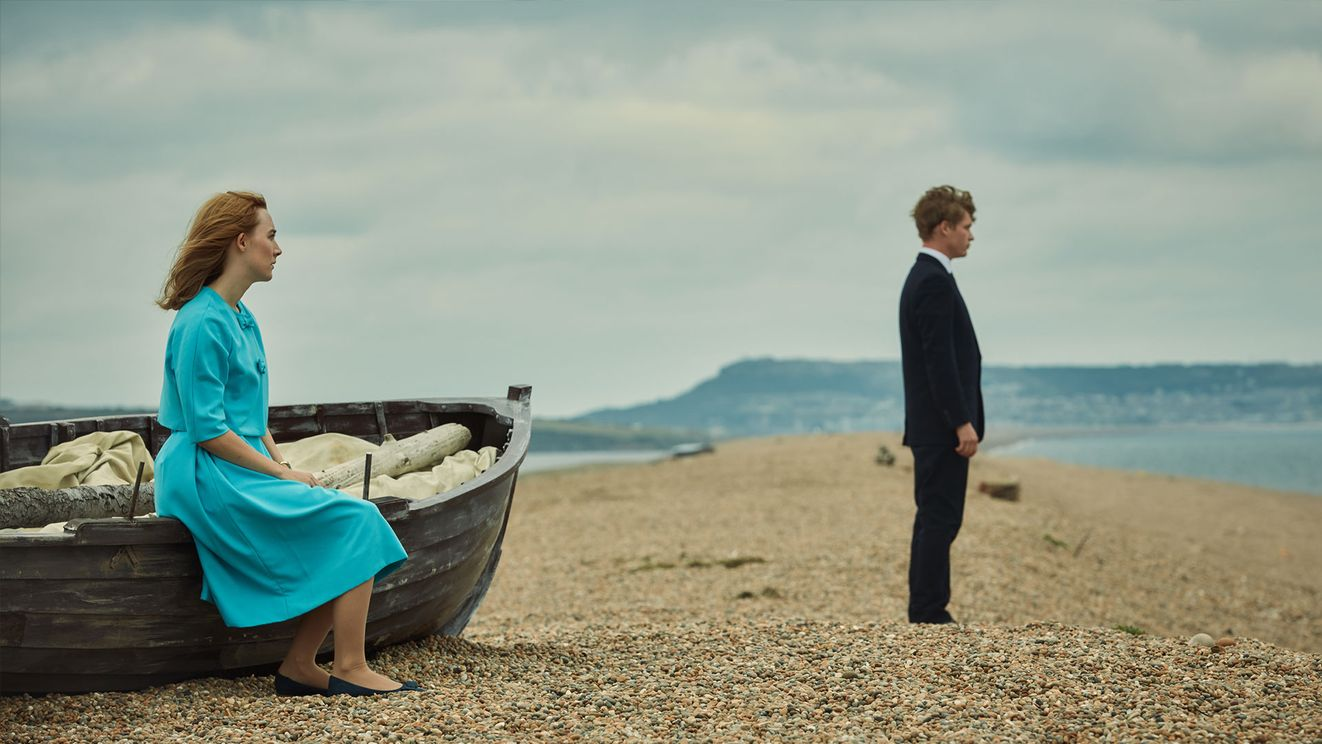 en la playa de chesil