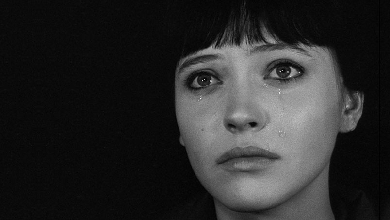 Anna Karina en Vivir su vida, de Jean-Luc Godard