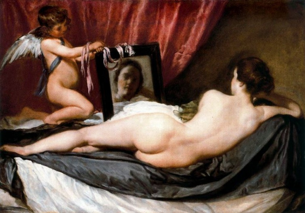 Venus del espejo, de Diego Velázquez