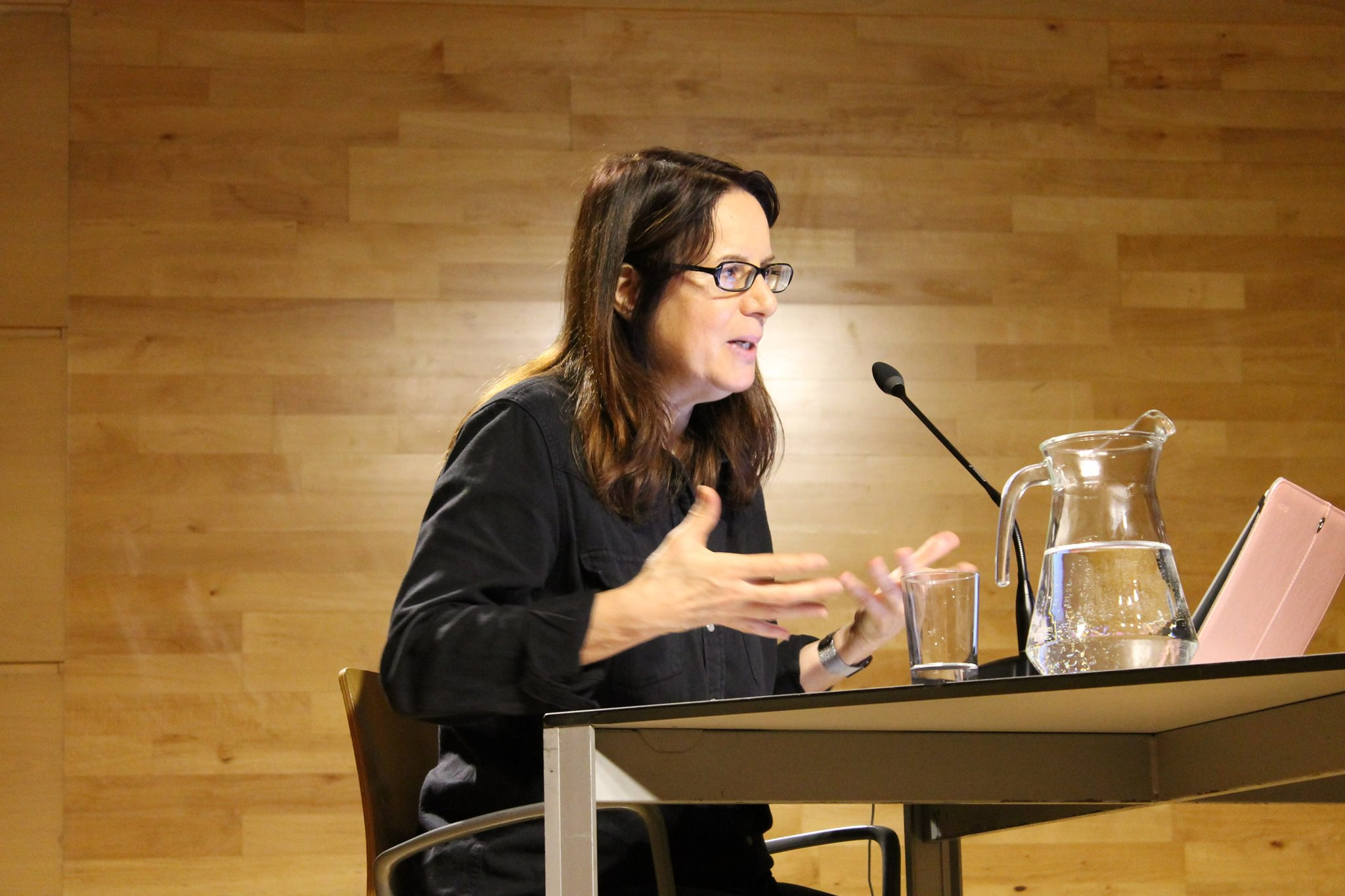 Nicole Brenez. Foto de Ana Moreira 2