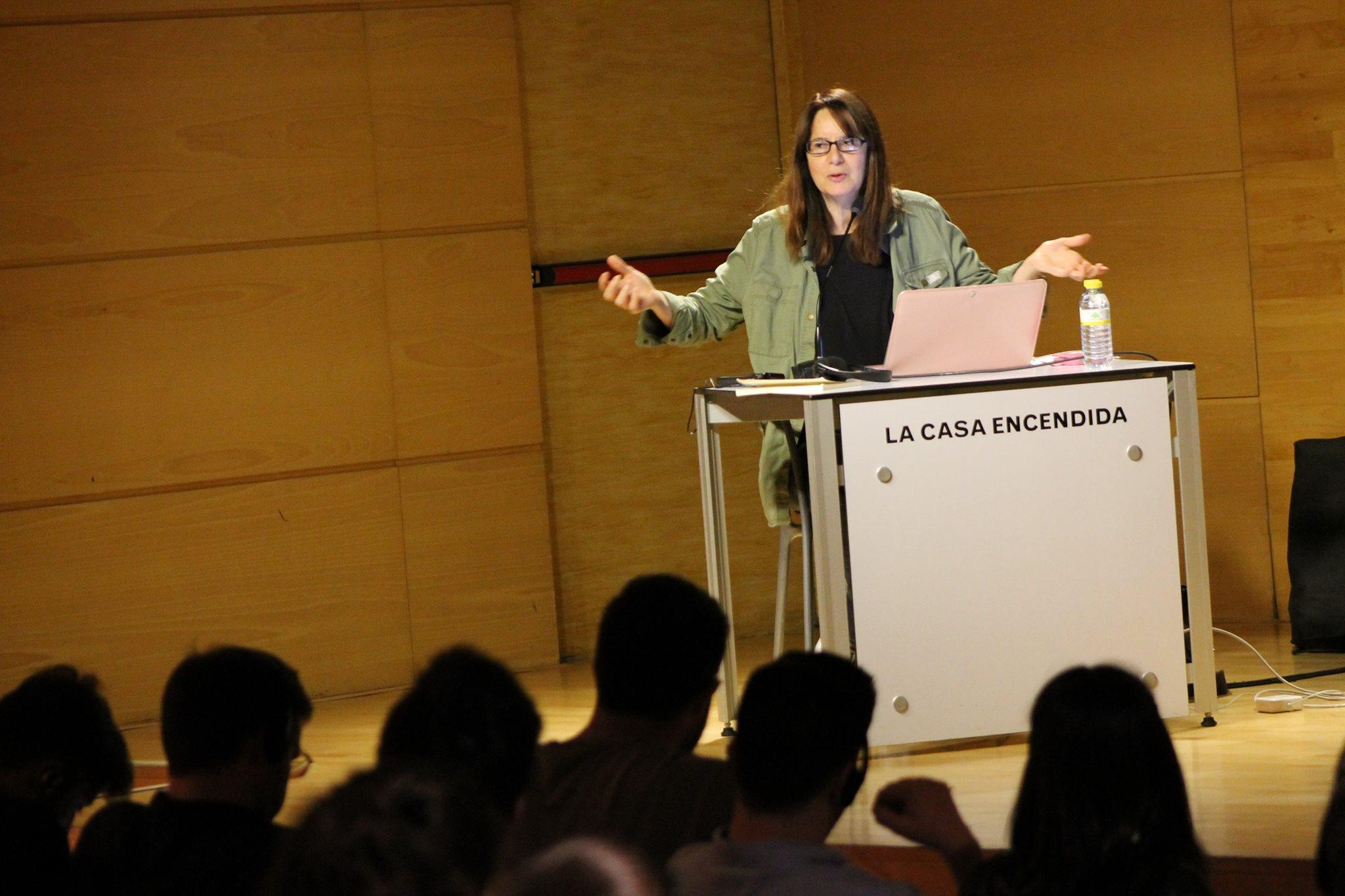 Nicole Brenez. Foto de Ana Moreira