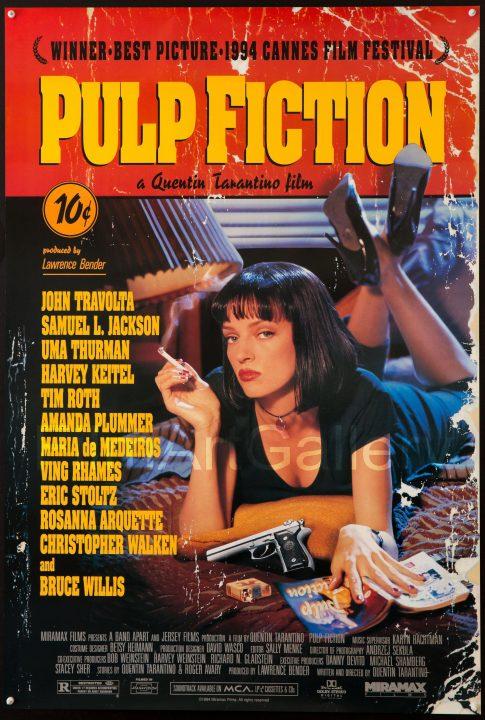 Pulp Fiction, el póster