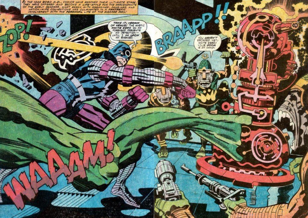 Jack Kirby El cuarto Mundo DC Comics