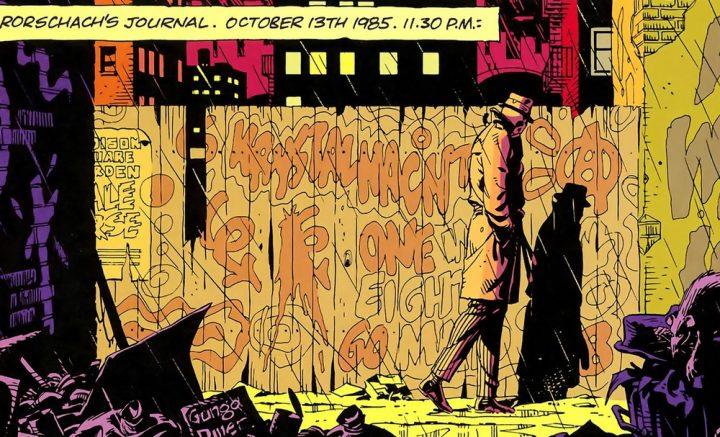 Watchmen. Cómic