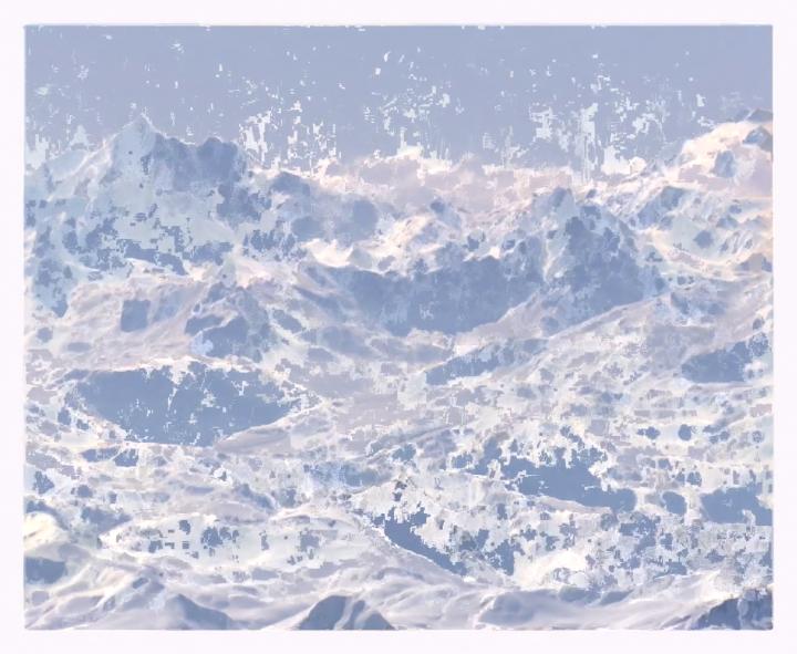 Avant l'effondrement du Mont Blanc. Revista Mutaciones