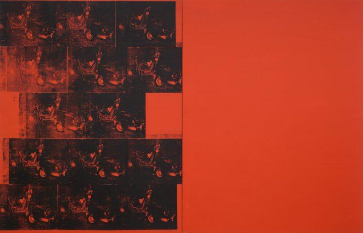 Andy Warhol. Orange Car Crash Fourteen Times. Revista Mutaciones