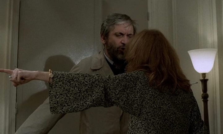 Maurice Pialat y Evelyne Ker en A nuestros amores (1983)