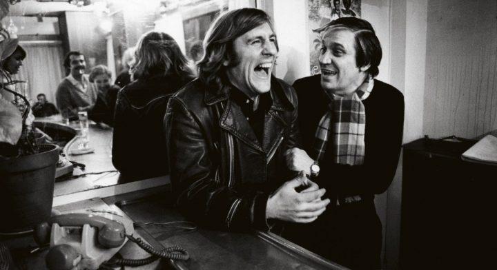 Maurcie Pialat y Gérard Depardieu en el rodaje de Loulou
