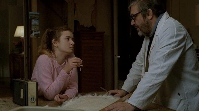 Maurice Pialat y Sandrine Bonnaire en A nuestros amores (1983)