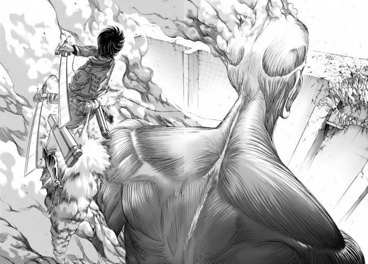 Ataque a los Titanes. Revista Mutaciones